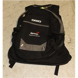 NEW BLACK MULTI POCKET BACKPACK