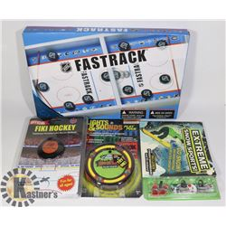 NEW NHL ITEMS FASTRACK BOARD