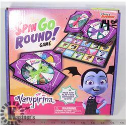 DISNEY VAMPIRINA SPIN GO ROUND GAME