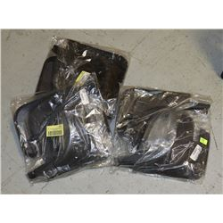 THREE SETS OF CHEVROLET CRUZE MUD FLAPS