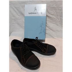 LEMAITRE SEMELLE ST TOE LACE UP WORK SHOES