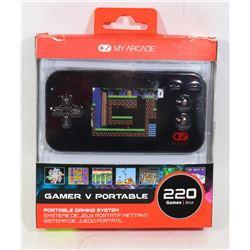 MY ARCADE GO GAMER PORTABLE V CONSOLE 220 GAMES