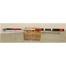 TELESCOPIC FISHING ROD SOLD WITH 3 REELS