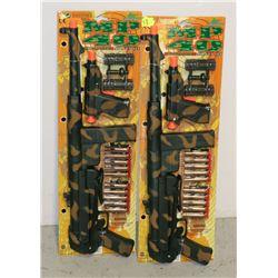 TWO MP40 AIR DART TOY GUN SETS