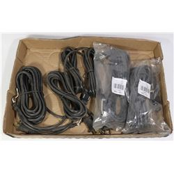 5 NEW REPLACEMENT CORDS