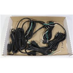 6 NEW REPLACEMENT CORDS