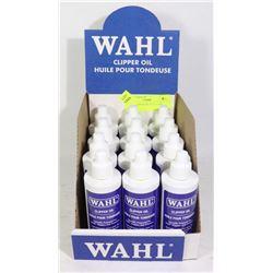 WAHL CLIPPER OIL FULL CASE