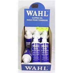 WAHL CLIPPER OIL HALF CASE