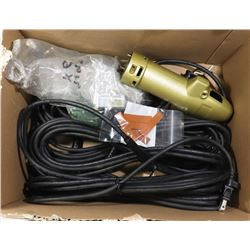 6 NEW REPLACEMENT CORDS AND BODY ETC
