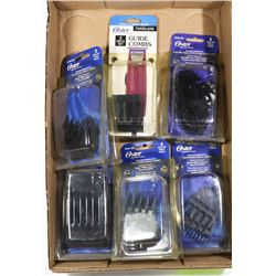 OSTER CLIPPER COMBS GUIDES