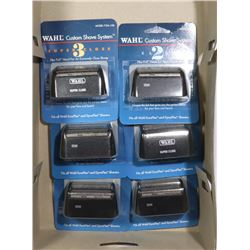 WAHL NEW SHAVER HEADS