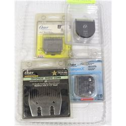 OSTER 4 NEW CLIPPER BLADES