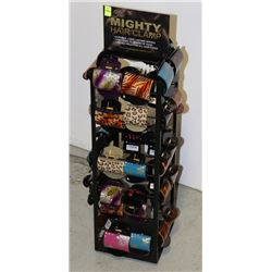 RETAIL DISPLAY RACK FOR THE MIGHTY HAIR CLAMP