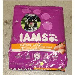 BAG OF IAMS DOG FOOD