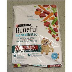 BAG OF BENEFUL DOG FOOD