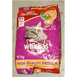 BAG OF WHISKAS CAT FOOD