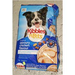 BAG OF KIBBLES N BITS DOG FOOD