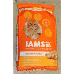 BAG OF IAMS CAT FOOD