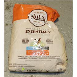 BAG OF NUTRO DOG FOOD
