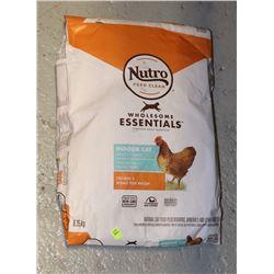 BAG OF NUTRO CAT FOOD