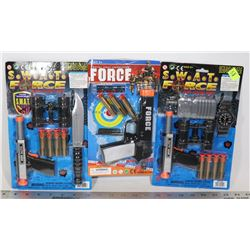 POLICE FORCE TOY SET