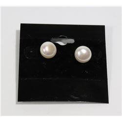 #93-FRESH WATER PEARL EARRINGS (9-10mm)