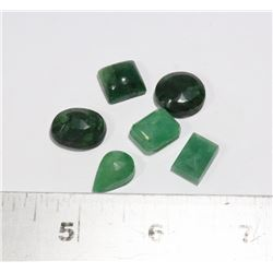 #68-GREEN EMERALD GEMSTONE 60.40ct