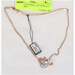 """NEW FIFTH AVENUE 16""""-NECKLACE """"PAMPERED"""