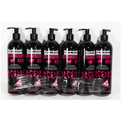 CASE OF 6 (500ML,EA) STRAWBERRY KISS PROFESSIONAL