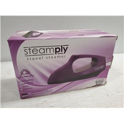 NEW PURPLE STEAMPLY TRAVEL STEAMER