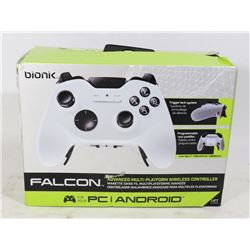 BIONIK FALCON WIRELESS CONTROLLER - PC / ANDROID