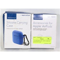 ACCESSORIES FOR  APPLE AIRPODS & SILICON CASE