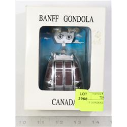 BANFF GONDOLA MINI FIGURINE