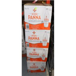 4 CASES OF ACQUA PANNA SPRING WATER