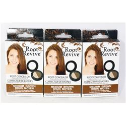 THREE ROOT REVIVE BRUSH ON TEMPORARY COLOUR KITS