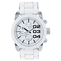 NEW DIESEL WHITE DIAL 3-CHRONO 46MM MSRP$305