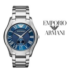 NEW EMPORIO ARMANI BLUE DIAL WATCH MSRP $384.99