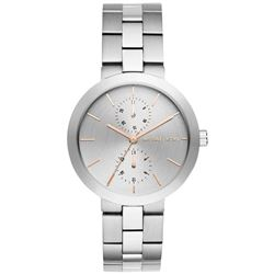 NEW MICHAEL KORS 39MM SILVER DIAL CHRONO MSRP $299