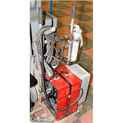PORTABLE STICK WELDER 120V WITH CART & FIRE