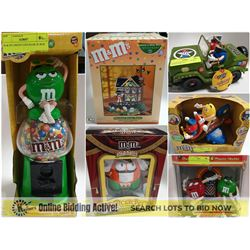 FEATURED M&M'S AND M&M COLLECTIBLES