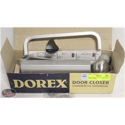 NEW DOOREX 754 AL COMMERCIAL DOOR CLOSER
