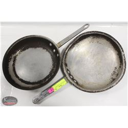"LOT OF TWO 12"" FRYING PANS"