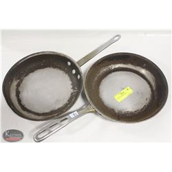 "TWO 10.5"" FRYING PANS"