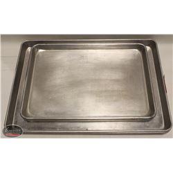 K41) BAILIFF SEIZURE: LOT OF 5 ALUMINUM SHEET PANS