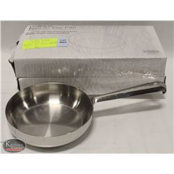"""LOT OF 2 NEW WINCO 5"""" STAINLESS STEEL FRY PANS"""