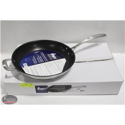 "NEW UPDATE INTERNATIONAL 12"" S/S FRY PAN W/"