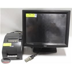 POS-X POINT OF SALE SYSTEM W/ PRINTER