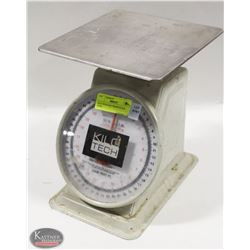 KILO-TECH DAIL WEIGH SCALE - 50LBS