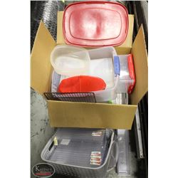 K41) BAILIFF SEIZURE: LARGE BOX OF ASSORTED