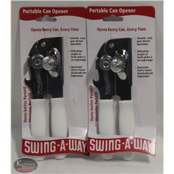 FOCUS PORTABLE WHITE CAN OPENER, SWING-A-WAY